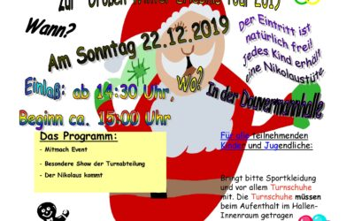 Weihnachtsfeier für unsere Vereinsmitglieder