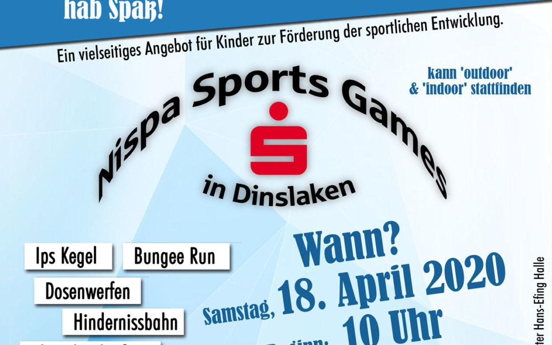 Nispa Sports Games in Dinslaken