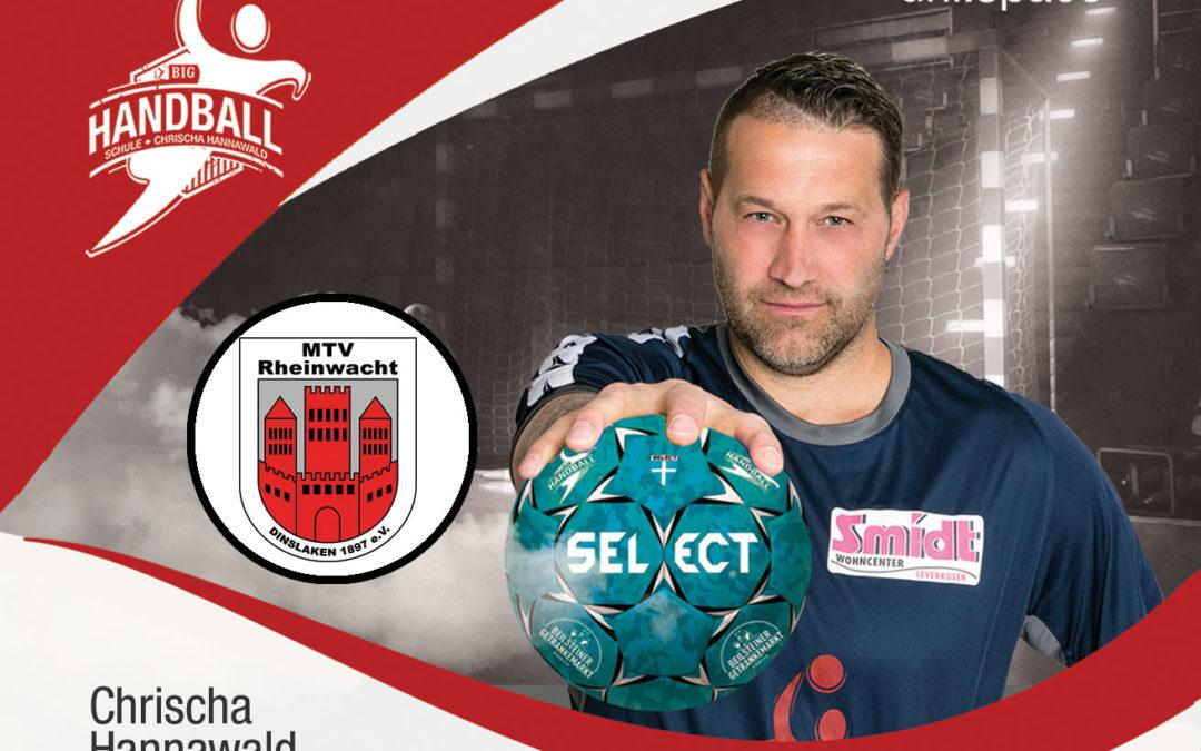 Handball Schule am Freitag, den 16.10.2020