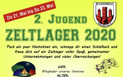 2. Jugend Zeltlager 2020
