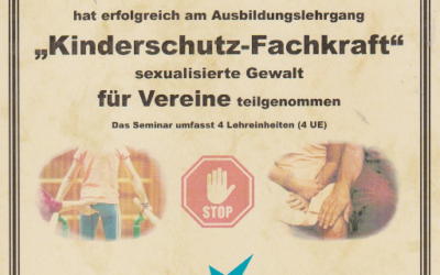 Zertifikat Heinz Buteweg