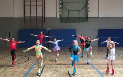 Kinderferientage bei der Rollkunstlauf Abteilung