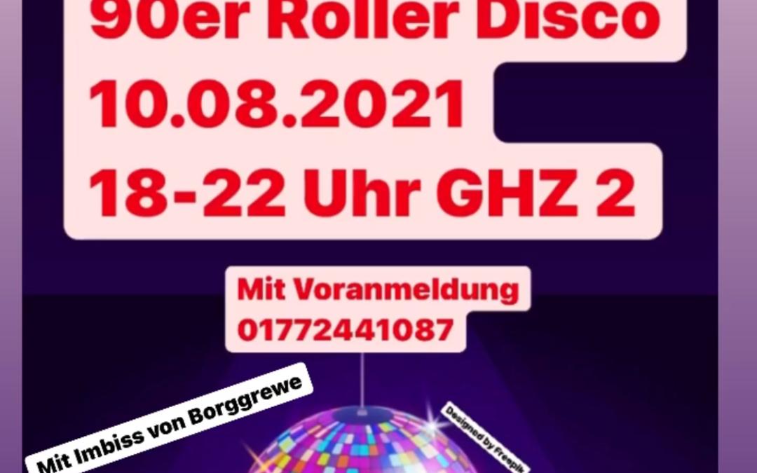 90er Roller Disco der Vereinsjugend