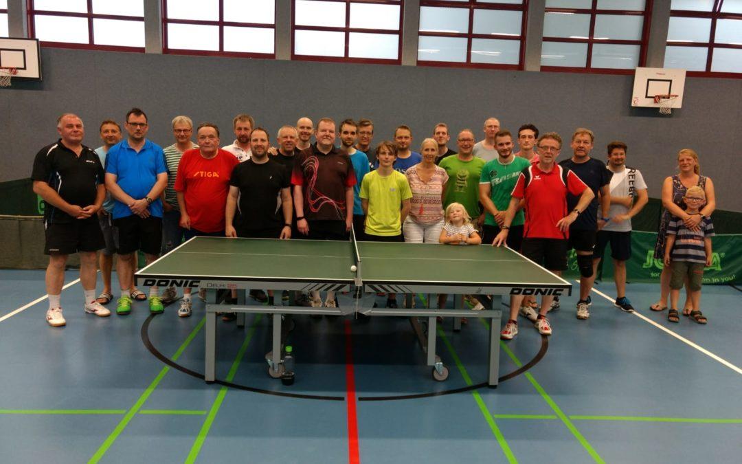 Tischtennis-Vereinsmeisterschaften 2021